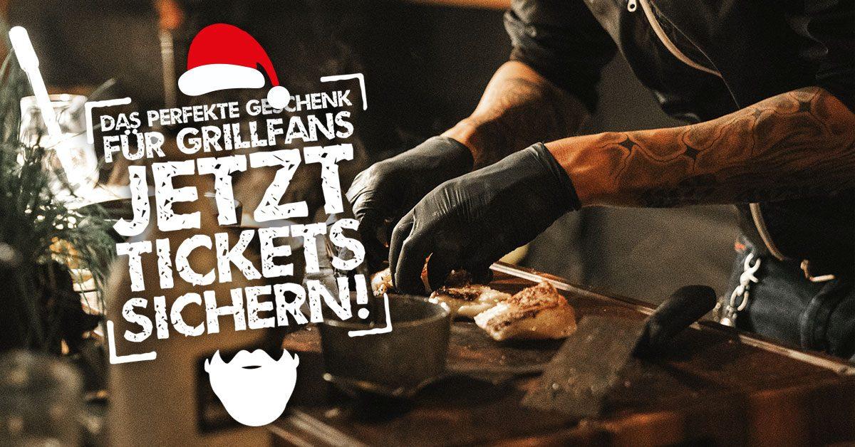 The Big BBQ jetzt Tickets sichern und zu Weihnachten verschenken