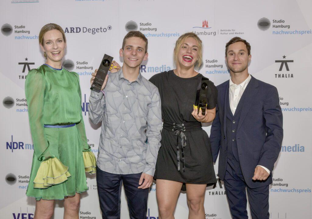 Lisa Martinek, Nino Böhlau, Johanna Ingelfinder, Ludwig Trepte