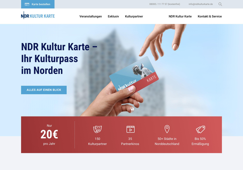 Startseite ndrkulturkarte.de