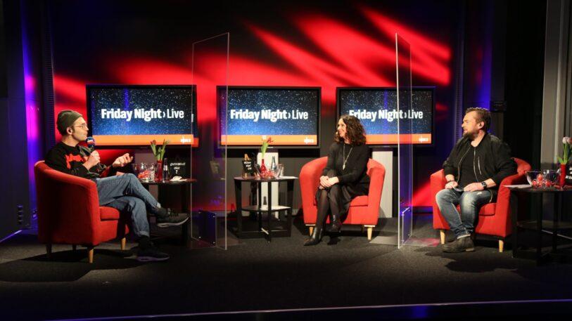 Fotografie Friday Night Live auf der Buehne.